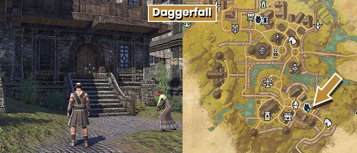 Benefactor Location Daggerfall