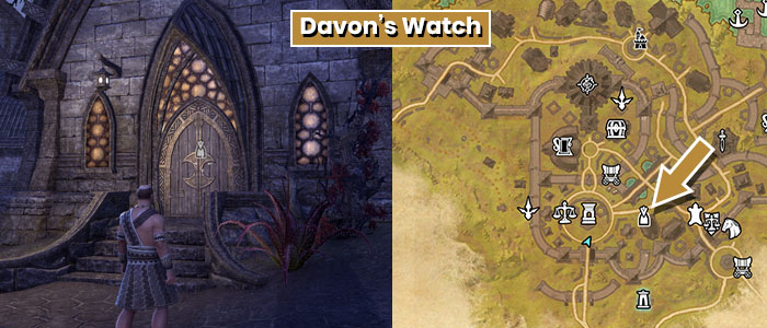 Benefactor Location Davons Watch