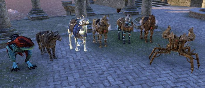 ESO Mount collection