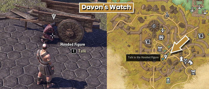 Hooded Figure Location Davon's Watch