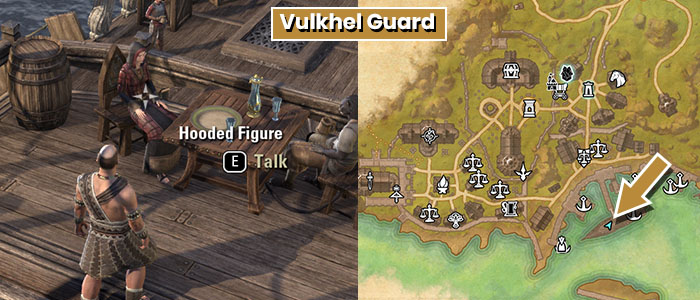 Hooded Figure Location Vulkhels Guard