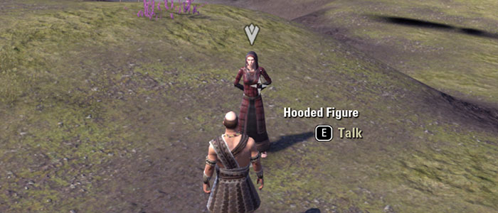 Hooded Figure in the Elder Scrolls Online Quest