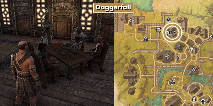 Undaunted Recruiter Location Daggerfall