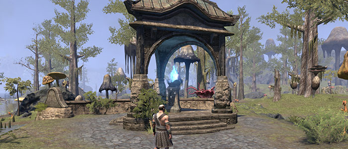 Wayshrine in ESO