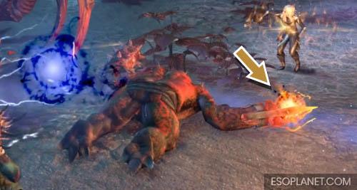 Cradle of Shadows Dungeon Guide Final Boss Flesh Atronach Light