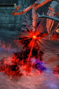 Cradle of Shadows Dungeon Guide Fourth Boss Ray of death