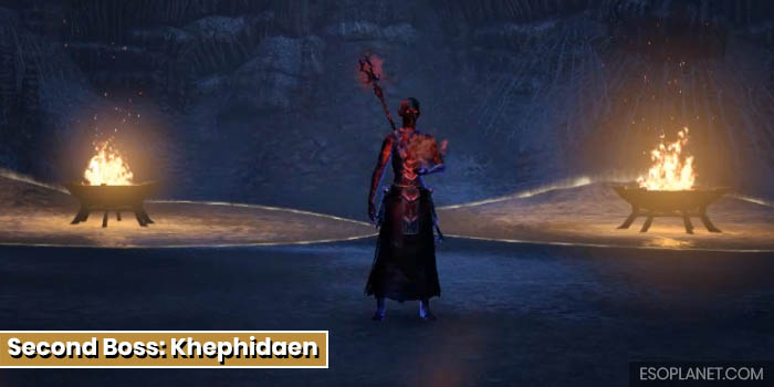 Cradle of Shadows Dungeon Guide Second Boss Khephidaen