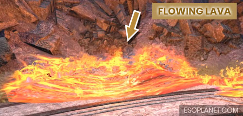 ESO Bloodroot Forge Guide Final Boss Flowing Lava