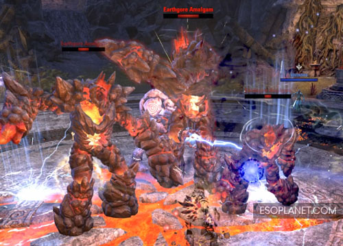 ESO Bloodroot Forge Guide Final Boss three copies