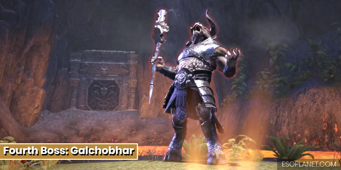 ESO Bloodroot Forge Guide Fourth Boss Galchobhar