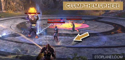 ESO Bloodroot Forge Guide Mini Boss Clump Up Location