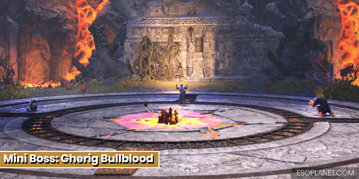 ESO Bloodroot Forge Guide Mini Boss Gherig Bullblood