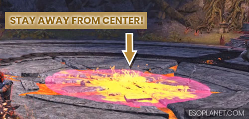 ESO Bloodroot Forge Guide Mini BossCenter Lava