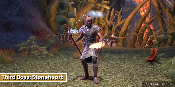 ESO Bloodroot Forge Guide Third Boss Stoneheart