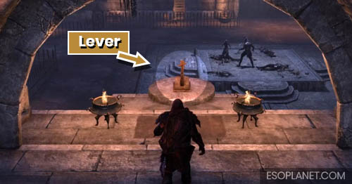 ESO Cradle of Shadows Guide Lever