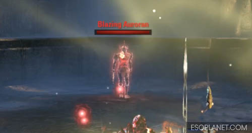 ESO Depths of Malatar Dungeon Guide - Final Boss Blazing Auroran