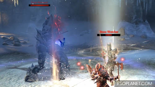 ESO Depths of Malatar Dungeon Guide - Second Boss Adds