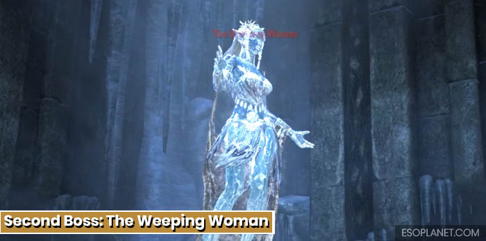 ESO Depths of Malatar Dungeon Guide - Second Boss The Weeping Woman