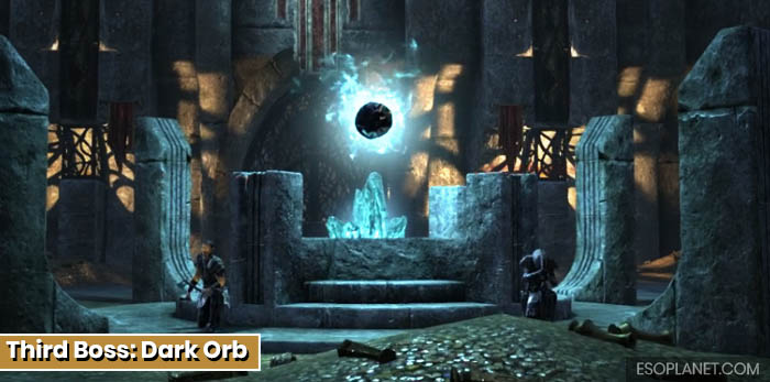 ESO Depths of Malatar Dungeon Guide - Third Boss Dark Orb