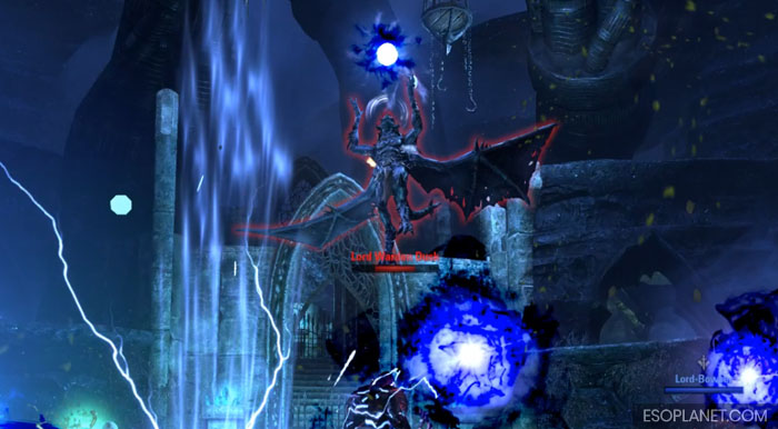 ESO Imperial City Prison Dungeon Guide Final Boss Flying before ground blast