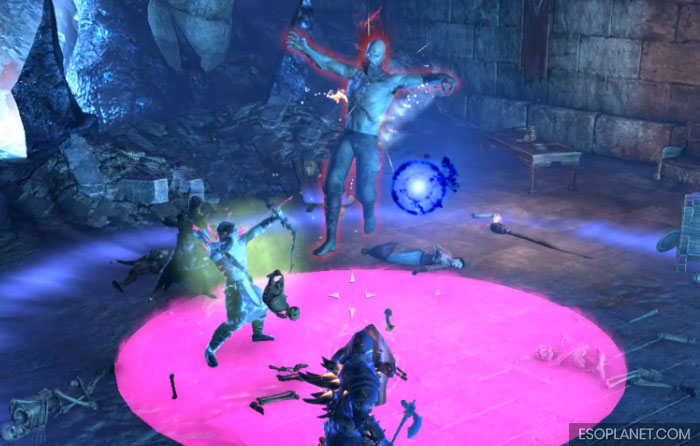 ESO Imperial City Prison Dungeon Guide First Boss Ground Slam