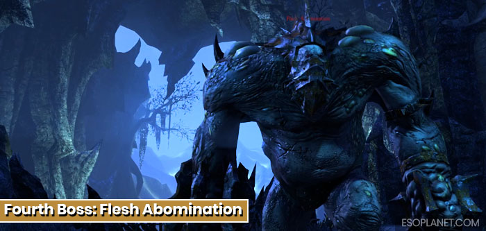 ESO Imperial City Prison Dungeon Guide Fourth Boss Flesh Abomination