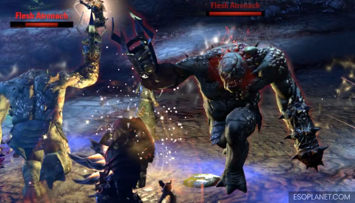 ESO Imperial City Prison Dungeon Guide Second Boss Flesh Atronach