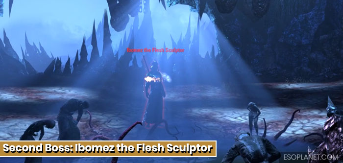 ESO Imperial City Prison Dungeon Guide Second Boss Ibomez the Flesh Sculptor Titled
