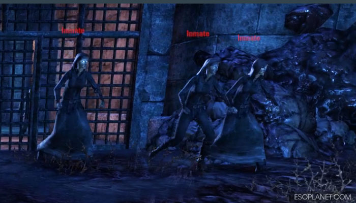 ESO Imperial City Prison Dungeon Guide Second Boss Inmates Running In
