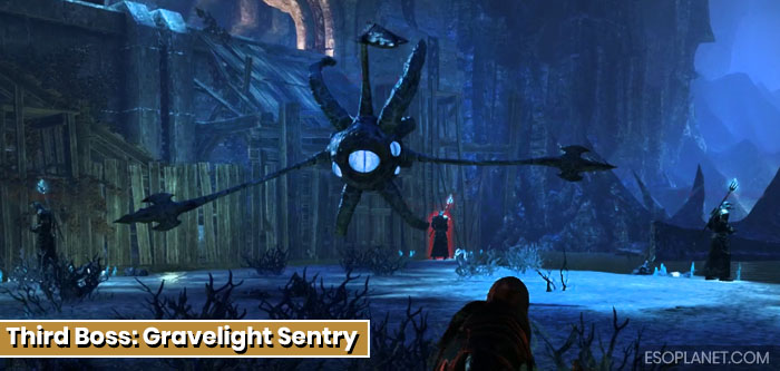 ESO Imperial City Prison Dungeon Guide Third Boss Gravelight Sentry
