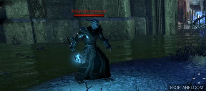 ESO Imperial City Prison Dungeon Guide Third Boss Necromancer