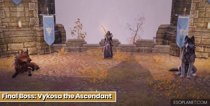 ESO Moon Hunter Keep Final Boss Vykosa the Ascendant