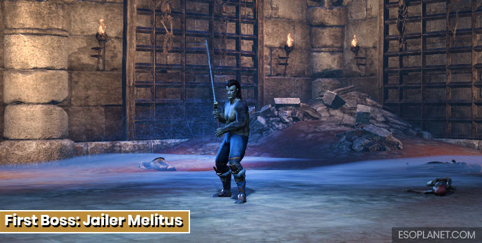 ESO Moon Hunter Keep First Boss Jailer Melitus