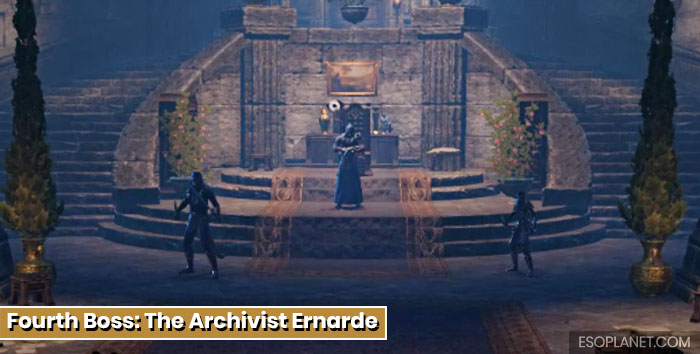 ESO Moon Hunter Keep Fourth Boss The Archivist Ernarde