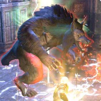 ESO Moon Hunter Keep Hulking Werewolf