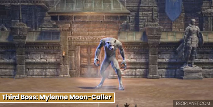 ESO Moon Hunter Keep Third Boss Mylenne Mooncaller