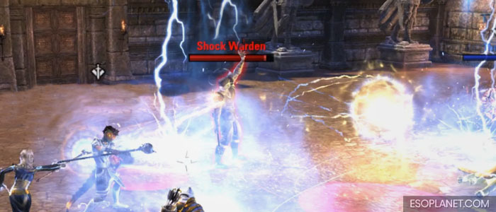ESO Moon Hunter Keep Third Boss Shock Warden
