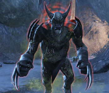 ESO Scalecaller Peak Ogre Monster