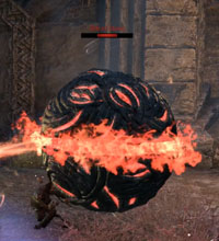 ESO Scalecaller Peak Second Boss Orb of Stone - Pokeball
