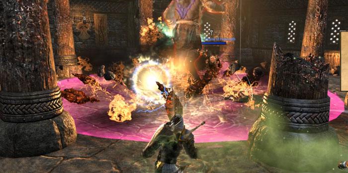 Falkreath Hold Final Boss Fire AOE Inner