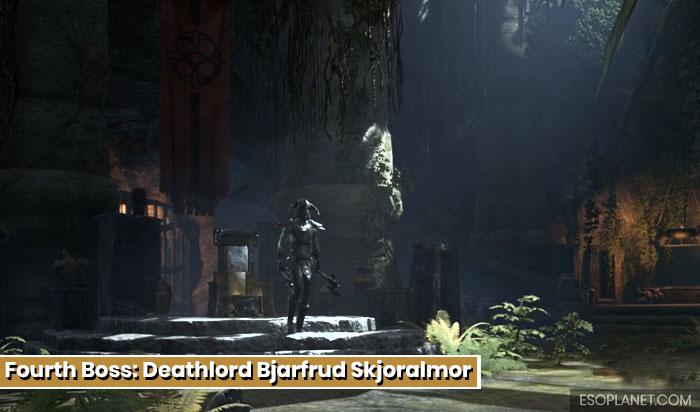 Falkreath Hold Fourth Boss DeathLord Bjarfrud Skjoralmor main