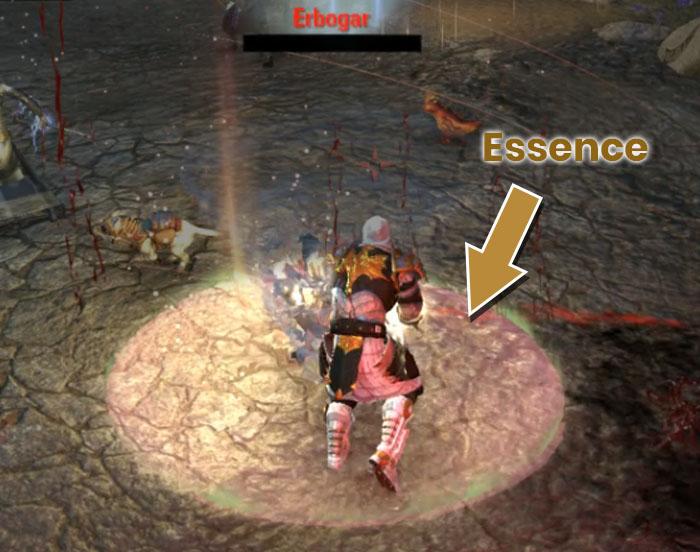 Falkreath Hold Third Boss Cernunnon Picking up the Essence Erbogar