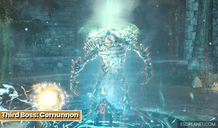 Falkreath Hold Third Boss Cernunnon
