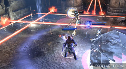 ESO Dungeon Guide Frostvault - Third Boss Lasers