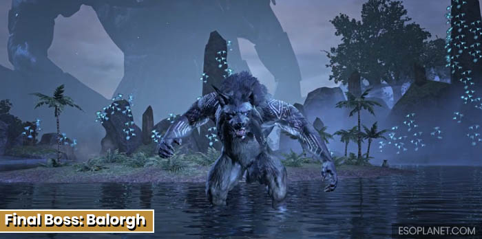 ESO Planet Dungeon Guide March of Sacrifices - Final Boss Balorgh_