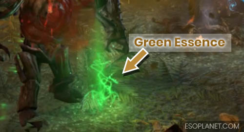 ESO Planet Dungeon Guide March of Sacrifices - Second Boss Lurchers Green Essence