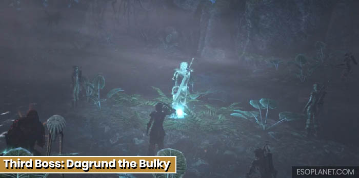 ESO Planet Dungeon Guide March of Sacrifices - Third Boss Dagrund the Bulky