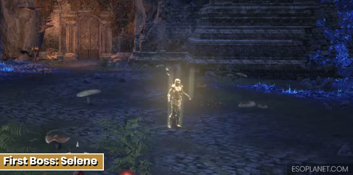 ESO Planet Lair of Maarselok Dungeon Guide - First Boss Selene