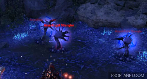 ESO Planet Lair of Maarselok Dungeon Guide - Fourth Boss Stranglers