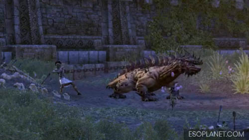 ESO Ruins of Mazzatun - Fourth Boss Wamasu